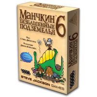 """Настольная игра """"Манчкин 6: Безбашенные Подземелья"""""""