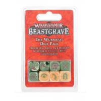 Warhammer Underworlds Beastgrave: The Wurmspat Dice Set
