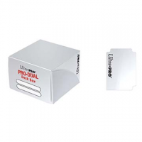 Коробочка на 180+ карт (белая, пластик) Ultra-Pro PRO-DUAL