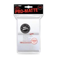 Кармашки Ultra-Pro Matte (белые матовые, 100шт)