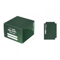 Коробочка на 180+ карт (зеленая, пластик) Ultra-Pro PRO-DUAL