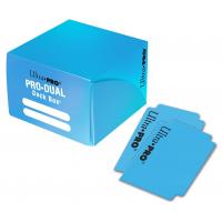 Коробочка на 180+ карт (желтая, пластик) Ultra-Pro PRO-DUAL