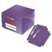 Коробочка на 180+ карт (пурпурная, пластик) Ultra-Pro PRO-DUAL