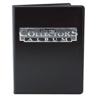 Альбом UltraPro с листами 3х3 10шт (черный)