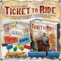 "Настольная игра ""Ticket to Ride: Америка"""