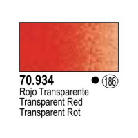 Model Color 934: Transparent Red