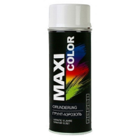 Грунт-аэрозоль MAXI COLOR: Белый (400 мл)