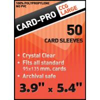 "Протекторы Card-Pro ""CCG Large"" (100х135 мм, 50 шт): прозрачные"