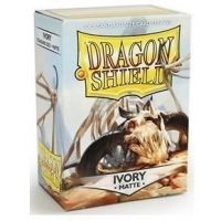 Протекторы Dragon Shield, ivory матовые (100 шт)