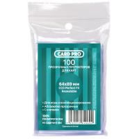 Протекторы  Card-Pro Perfect Fit Resealable (прозрачные, 64х89мм, 100шт)