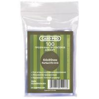 Прозрачные протекторы Card-Pro Perfect Fit для ККИ (100 шт.) 64x89 мм