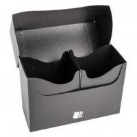 Пластиковая коробочка Blackfire - Чёрная (160+ карт)
