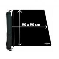 Игровое поле Blackfire Ultrafine Playmat - Black 90x90cm with carrybag