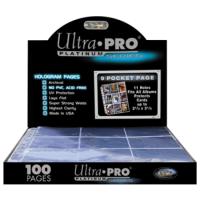 Лист для альбома UltraPro: 9 кармашков