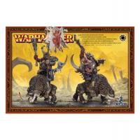 Ogre Mournfang Cavalry (квадратные подставки)